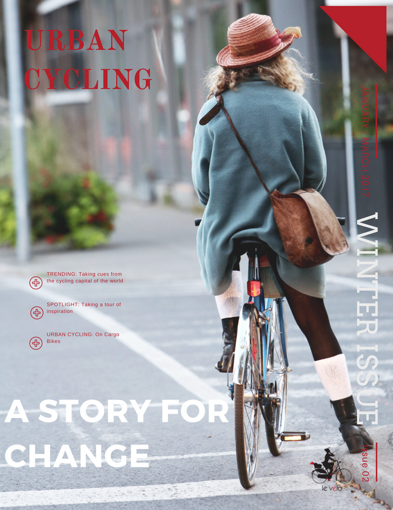 Urban Cycling eMagazine: A Story for Change Issue II
