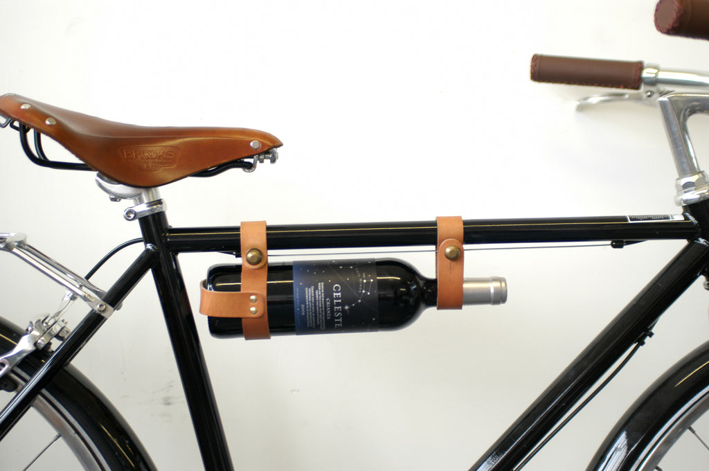 Jessica Doyle's Curated picks to discover cycling beyond summer for Le Velo Victoria Featured Bidon au vin Wine holder by Oopsmark