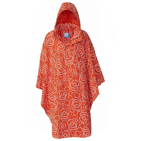 HappyRainyDays Rain cape Jessica, poncho available at le velo victoria