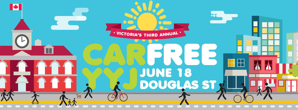Find Le Vélo Victoria at #carfreeyyj on June 18th