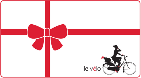 Gift Cards available at Le Velo Victoria