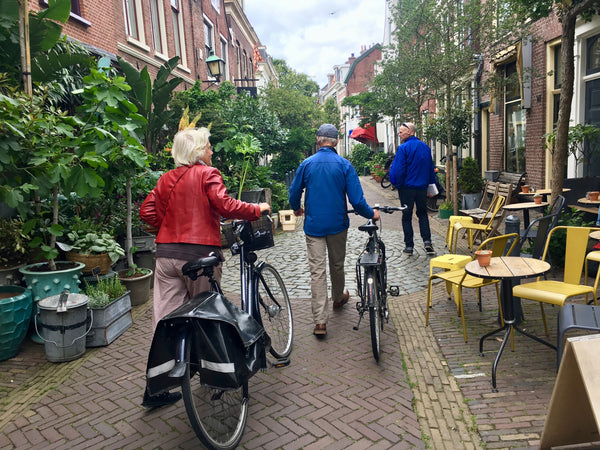 Pedestrian zone in Haarlem