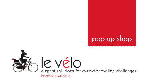 Le Velo's pop-up shop