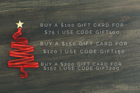 Save on gift cards