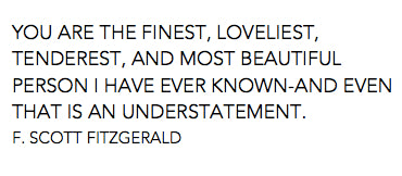 Poem by F. Scott Fitzgerald
