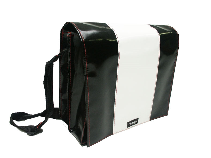 Black and White Shoulder Bag available at Le Velo Victoria