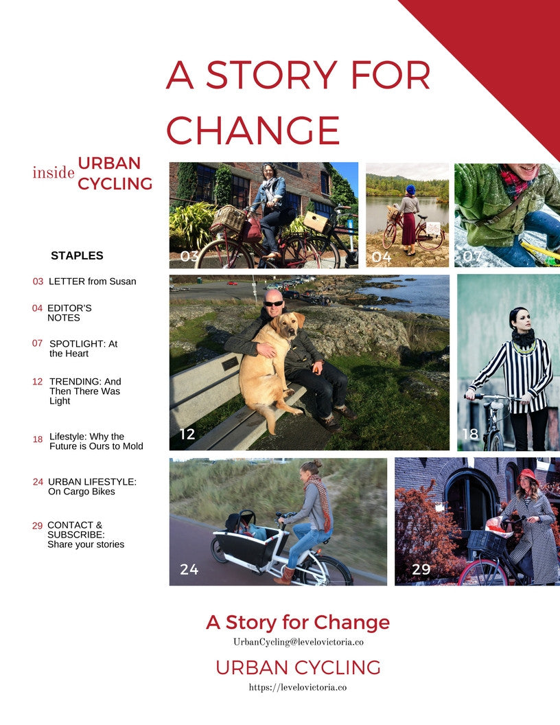 Urban Cycling eMagazine: A Story for Change