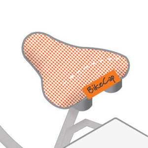 Bicycle Seat Cover Check Mate | Orange