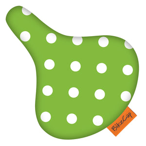 Bicycle Seat Cover Polka Dot | Green