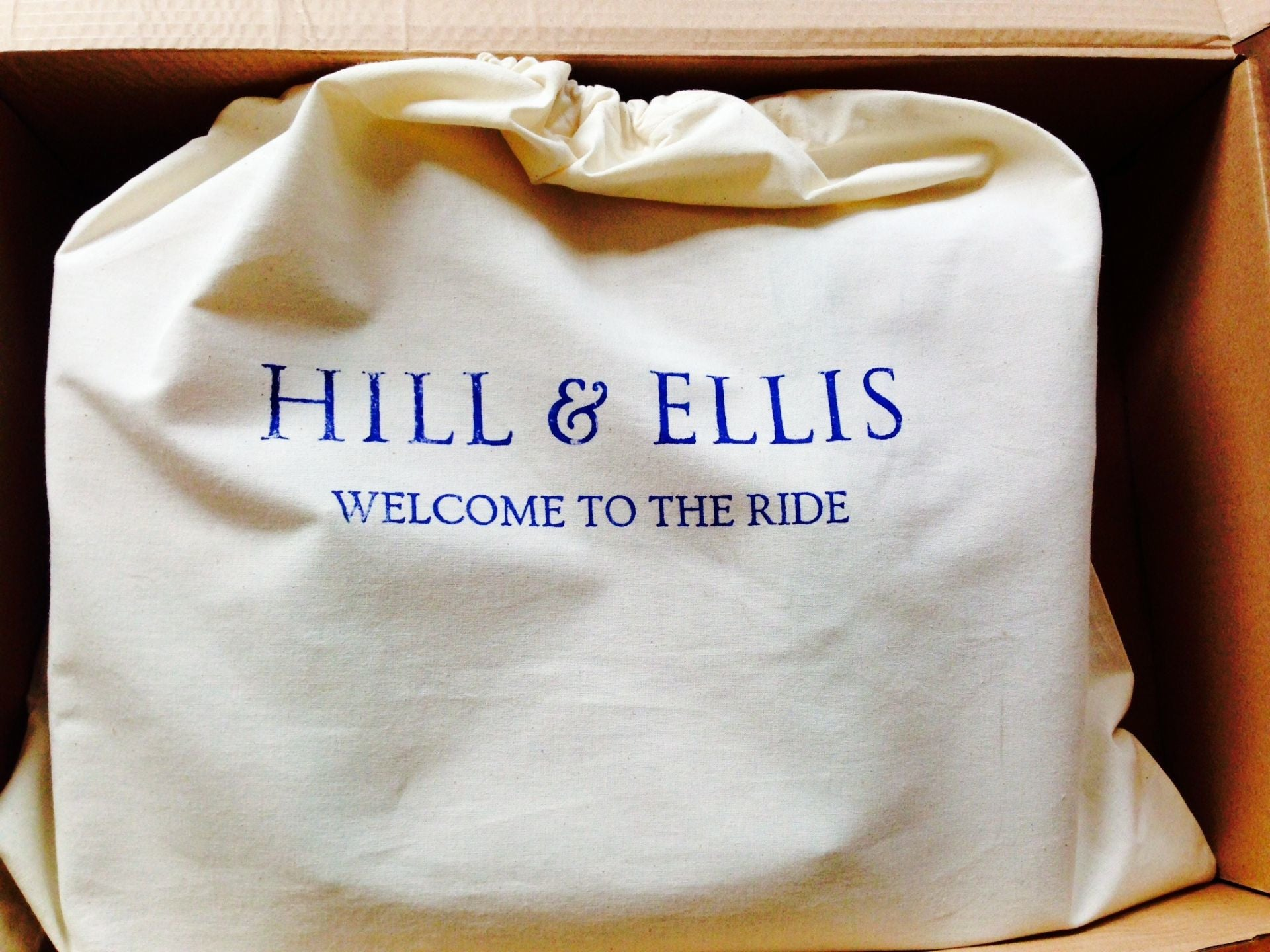 Hill and Ellis duster bag
