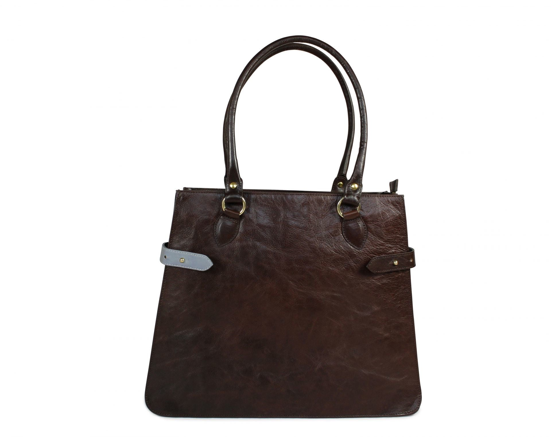 Dorothy - Dark Brown Leather Handbag