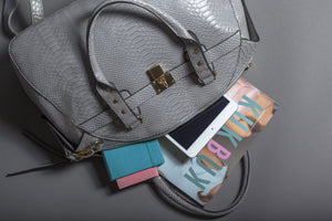 Dream | Grey Eco-leather Handbag