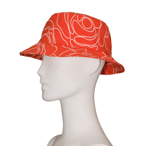 Rain Hat Jessica | Orange Rose