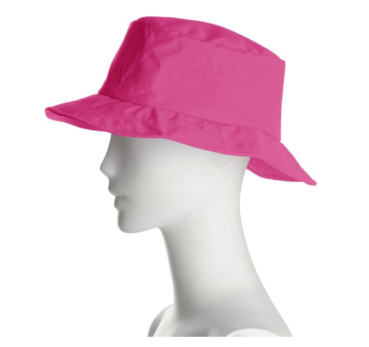Rain hat Magenta waterproof