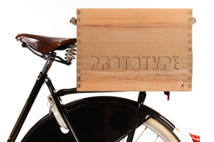 The Transporter bicycle crate