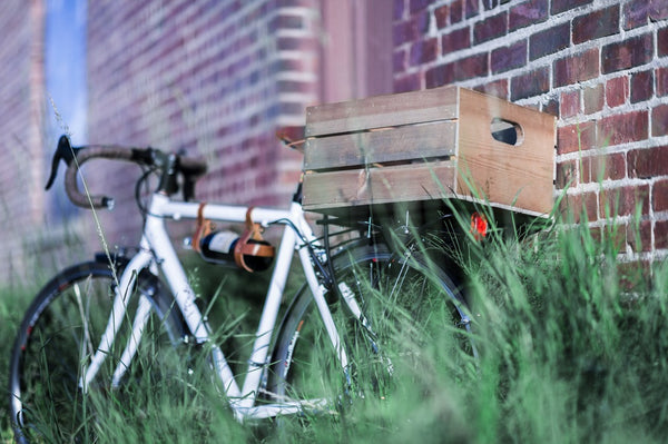 Up-cycled Bicycle Crates