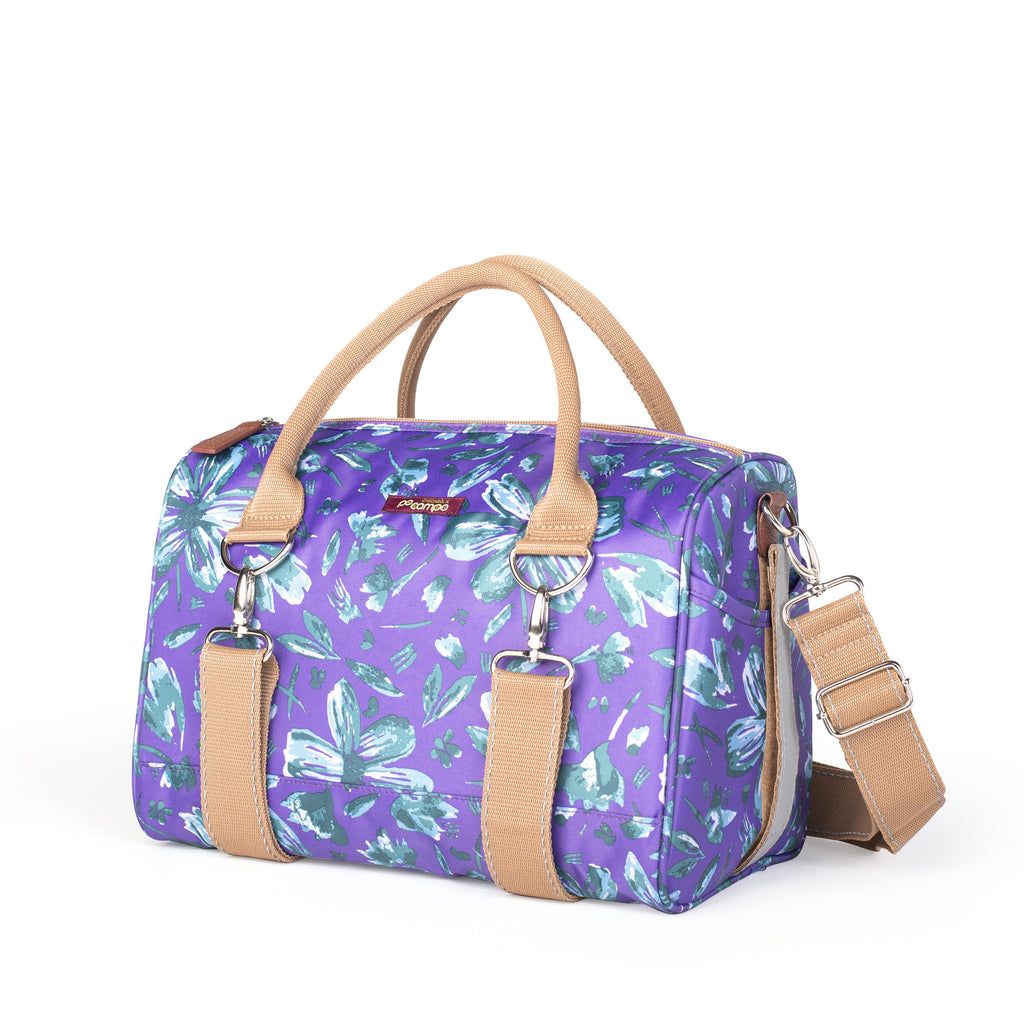 Po Campo Logan Trunk Bag in purple petals