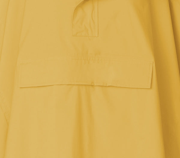 Zoomed in photo of Rain Cape Yasmin in Duck Yellow