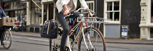 Portland Business Bag. Waterproof pannier, fashionable, unique and classic; for the stylish rider.
