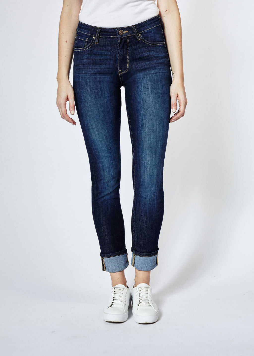 Performance Stretch Classic Indigo Straight & Narrow Denim