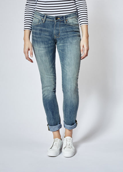 Performance Stretch Dirty Wash Straight & Narrow Denim