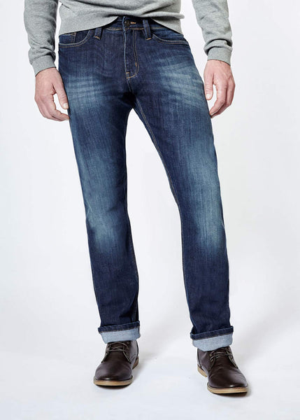 Relaxed Fit Medium Stone Denim