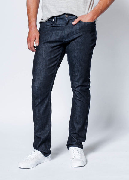 Relaxed Fit Rinse Denim