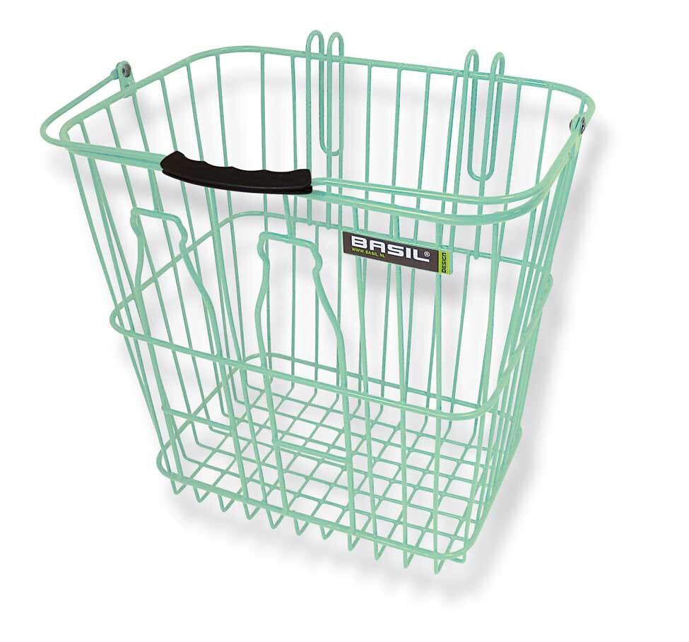 Bottle Basket | Pastel Green available at Le Vélo Victoria
