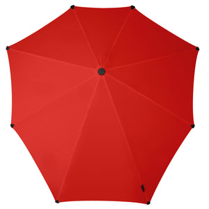 Umbrella | Passion Red made for the bicycle. Keeping you dry from the top down.