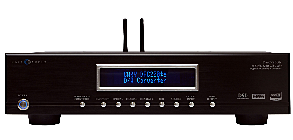 CARY DAC-200TS DIGITAL TO ANALOGUE CONVERTER