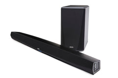 DENON DHT-S516H SOUNDBAR WITH WIRELESS SUBWOOFER AND HEOS BUILT-IN