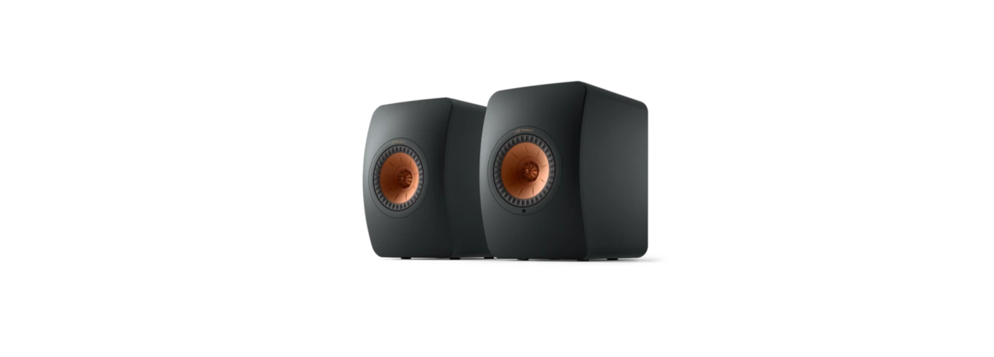 KEF LS50 Wireless II Bookshelf Monitor Speakers (Pair)