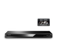 PANASONIC DMR-PWT560GN 3D BLU-RAY/DVD PLAYER & HDD RECORDER