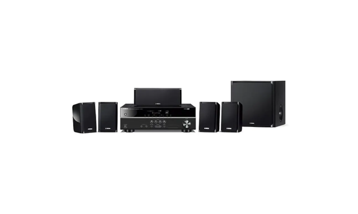 YAMAHA YHT-1840 Home Theatre System with 5-Channel Powerful Surround Sound