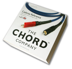 Chord Cadenza Reference 1M stereo RCA interconnect