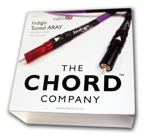 CHORD INDIGO TUNED ARAY RCA INTERCONNECT 1METER