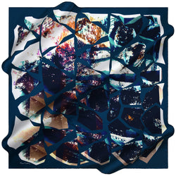 100% TWILL SILK SQUARE SCARF (PC-15540-W19)
