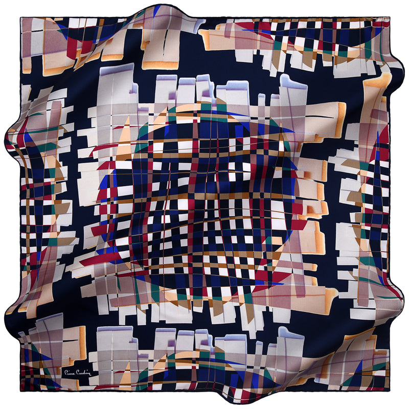 100% TWILL SILK SQUARE SCARF (PC-15823-W19)
