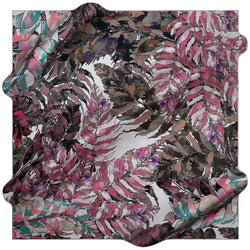 100% TWILL SILK SQUARE SCARF (PC-15694-W19)