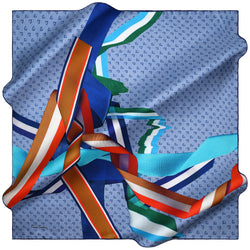 100% TWILL SILK SQUARE SCARF (PC-15427-W19)