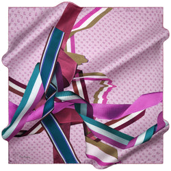 100% TWILL SILK SQUARE SCARF (PC-15410-W19)