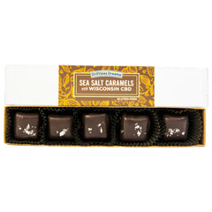 CBD Sea Salt Caramels