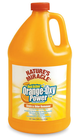 Natures Miracle Orange Oxy Stain & Odor Remover 128oz