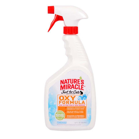 Nature's Miracle Just for Cats Oxy Stain & Odor Remover Fresh Scent 32oz