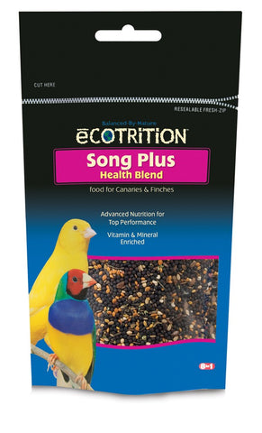 8 in 1 eCOTRITION Song Food Plus Canary/Finch 8oz