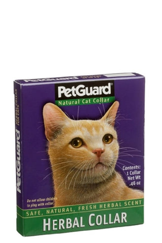 Pet Guard Herbal Cat Collar 12-13 Inches