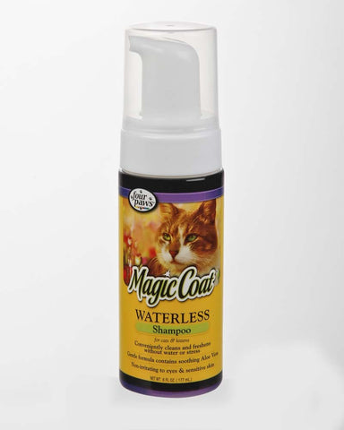 Four Paws Magic Coat Waterless Shampoo for Cats & Kittens 6oz