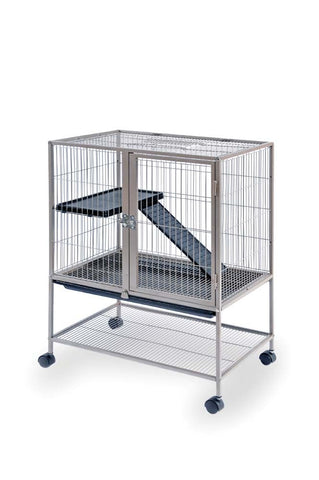 Prevue Pet Products Frisky Ferret Cage on Casters Cocoa 36x28x34