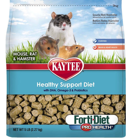 Kaytee Forti-Diet Pro Health Mouse/Rat 5lb