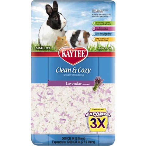 Kaytee Clean And Cozy Bedding Lavender 500ci